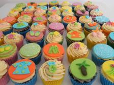 Hawaii cupcakes