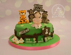 ballerina animal cake