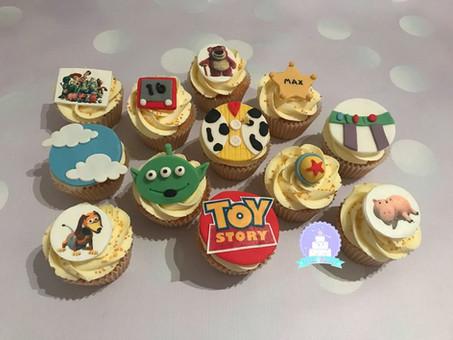 Toy Story Cupcakes...ooooooh!