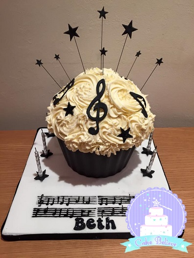 Giant cupcake music