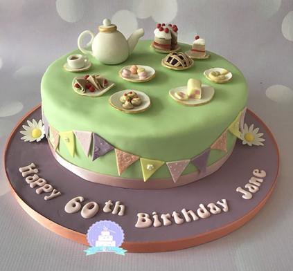 Afternoon Tea birthday cake