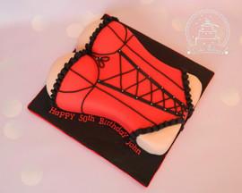 Corset cake