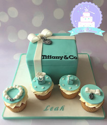 Tiffany cake and cupcakes