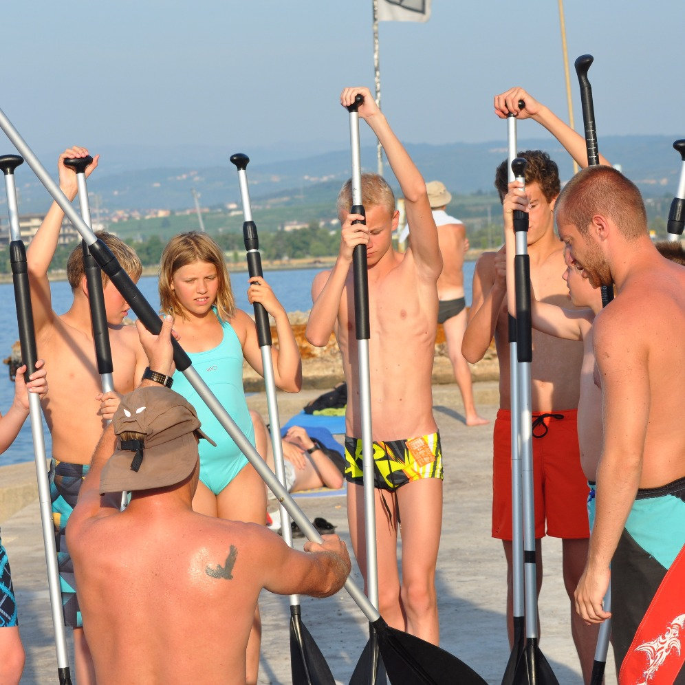 Stand up paddle course - Adria resort