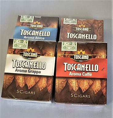 TOSCANELLO  Aroma Grappa 5-Cigars x 4
