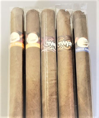 TATIANA AND PACIFIC TWYST SAMPLERS 15 CIGARS