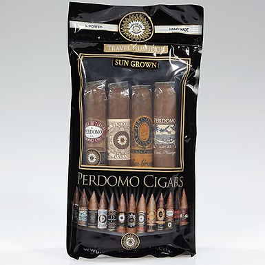 Perdomo Samplers Travel Bag Sungrown