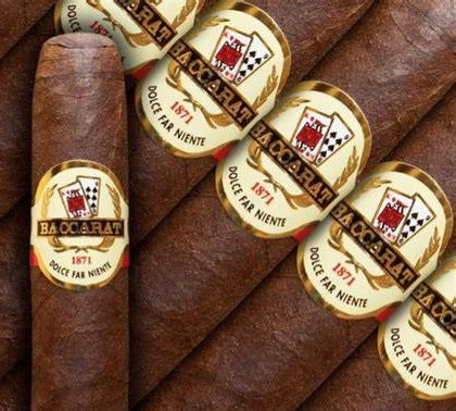 Baccarat The Game Churchill Maduro