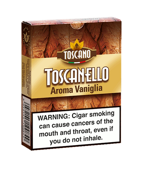 TOSCANELLO Vaniglia 5-Cigars x 10