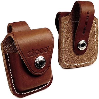 Zippo Lighter Pouch Genuine Leather