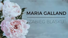 Zabieg blasku z piwonią Maria Galland