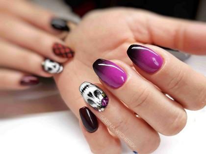 Baza hybrydowa jest JEDYNYM bezpiecznym produktem w kontrakcie z paznokciem.