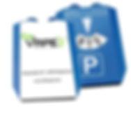 Werbemittel Parkscheibe bedruckt mit Ihrem Logo auch in kleinen Mengen bei uns möglich.