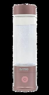 Osmio Duo Hydrogen Water Bottle 400ml In Ash Rose