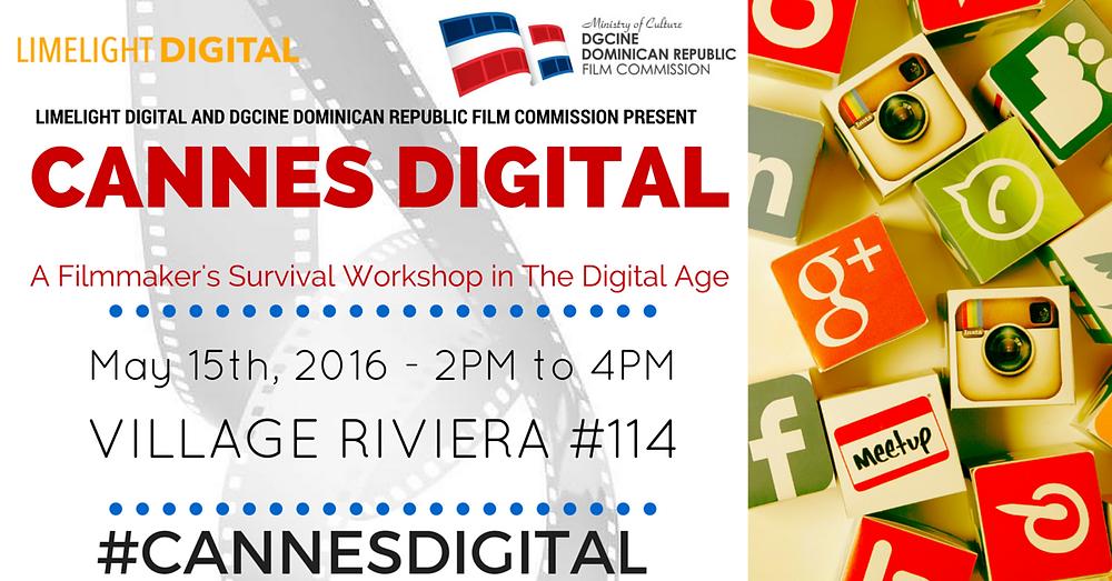 Cannes Digital workshop
