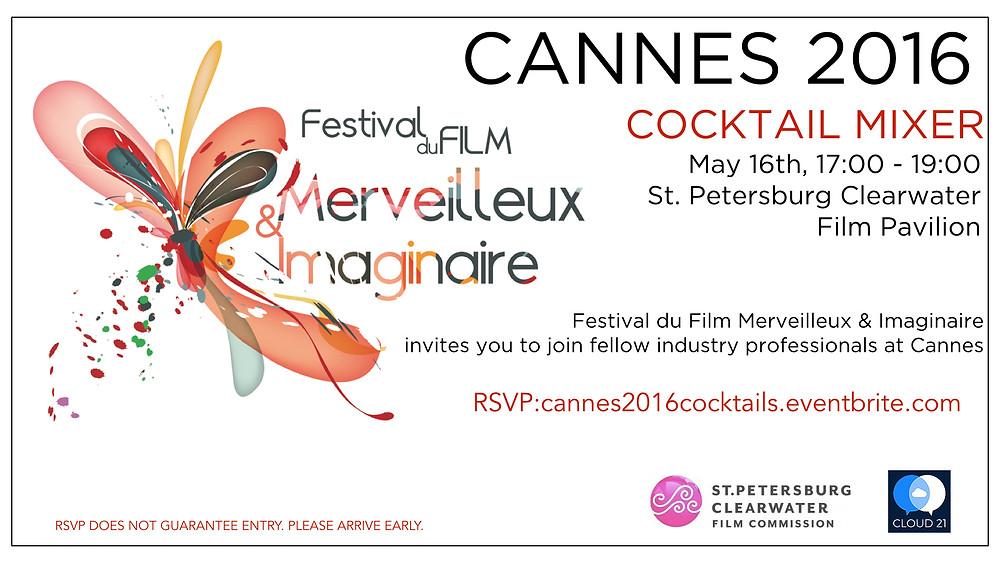 Cocktail du Merveilleux Cannes 2016 invitation