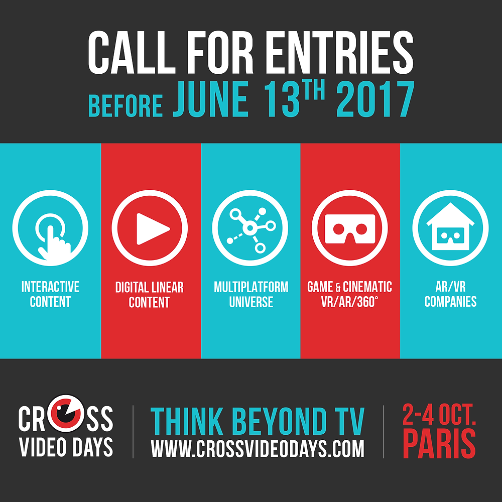 Cross video days 2017 Call for entries