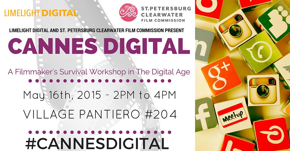 Cannes digital workshop for filmmakers