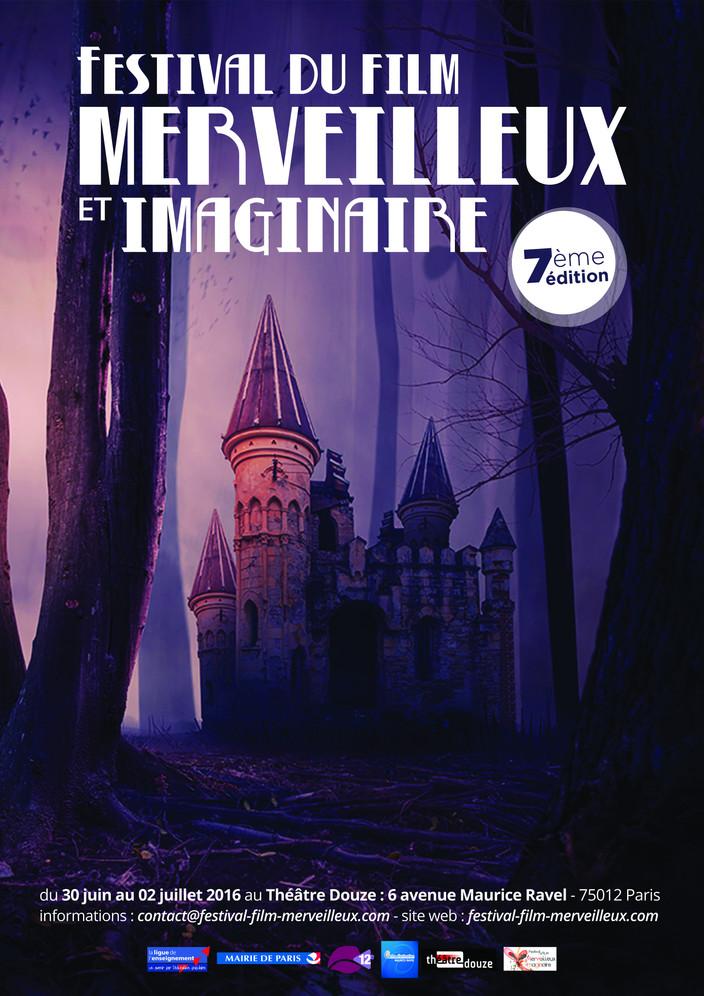 Poster : 7ème Festival du Film Merveilleux et imaginaire de Paris