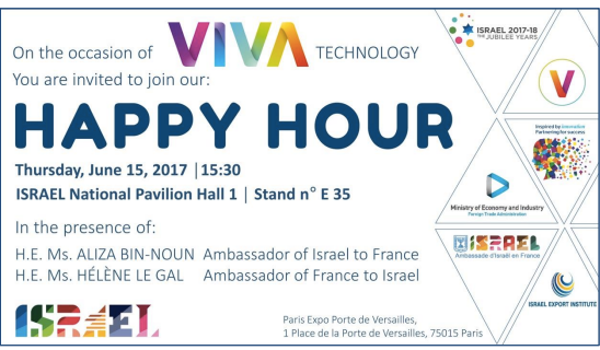 Invitations Happy Hour Viva tech