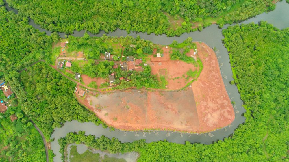 Property in Goa view from Drone