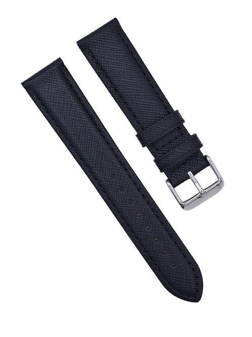 LuxBand - Saffiano Finish - Obsidian (18mm/20mm/22)