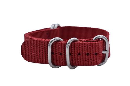 HD Nylon 5-Ring - Red (20mm/22mm)