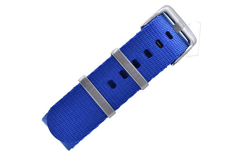 Signature Label Nylon - Royal (20mm/22mm)