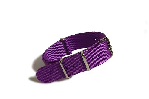 Signature Line Nylon -  Purple (20mm)