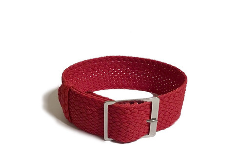 Perlon - Braided - Red (20mm/22mm)