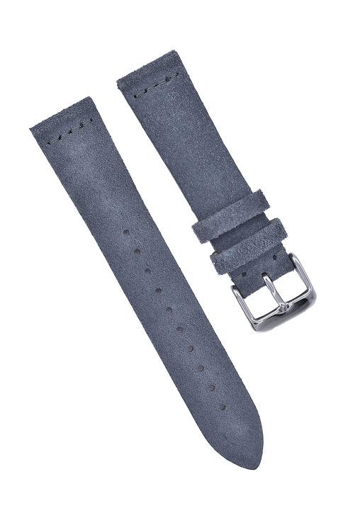 Suede - Handmade - Gray (18mm/20mm/22mm)
