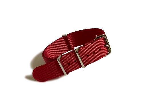 Signature Line Nylon -  Red (20mm/22mm)