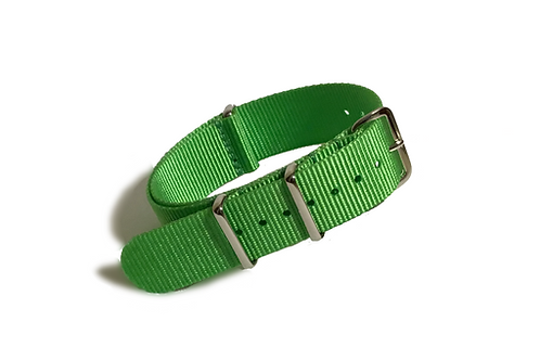 Signature Line Nylon -  Lime Green (20mm)