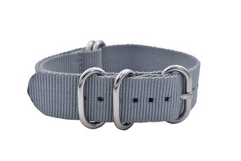 HD Nylon 5-Ring - Gray (20mm/22mm)