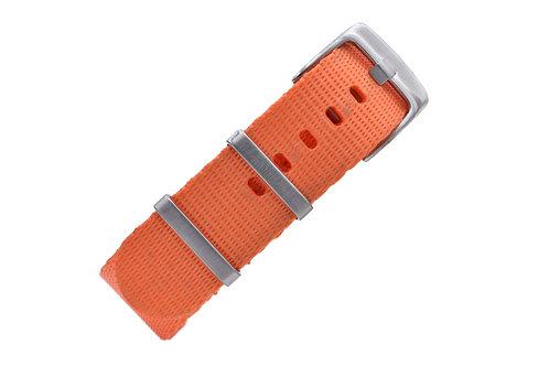Signature Label Nylon - Orange (20mm/22mm)