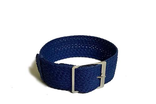 Perlon - Braided - Blue (22mm)
