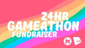 24 Hour Gameathon Fundraiser for Mermaids!