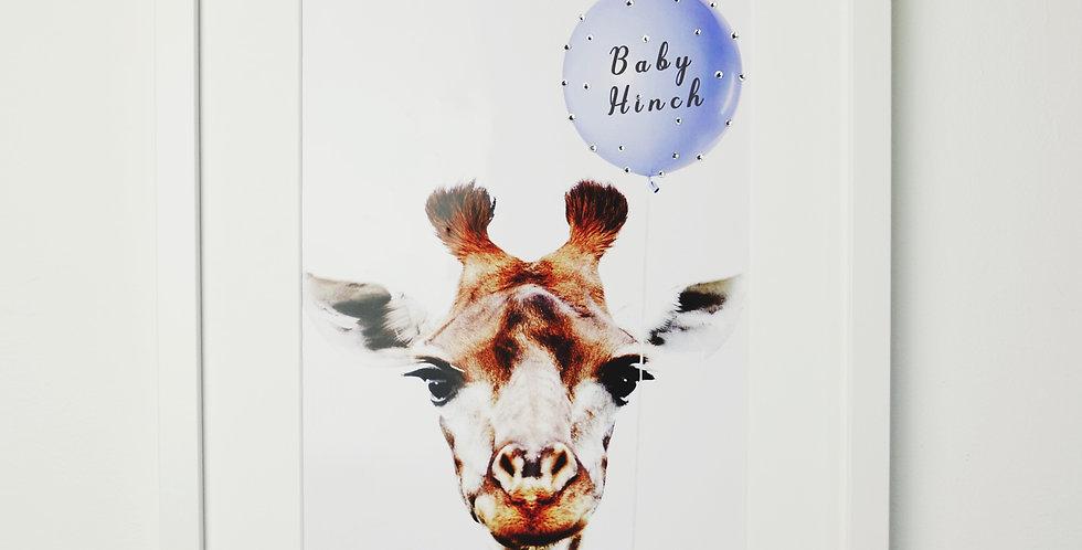BABY LOVE ( GIRAFFE & PANDA AVAILABLE)