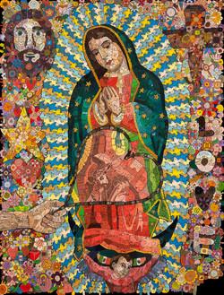 La mano de Dios mostrando el divino fruto de su vientre (1)