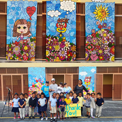 Santa Clarita Elementary MURAL