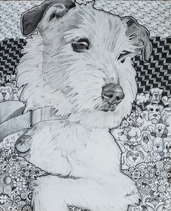 Richard Masur dog