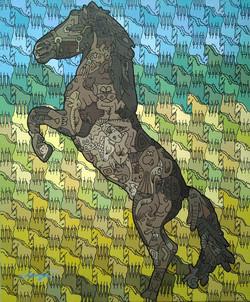 Escher Horse