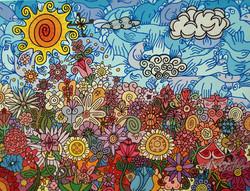 La libertad de la flor