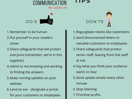 Leadership Communication Tips During Covid-19
