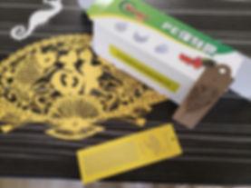 Laser Die Cut Paper Samples