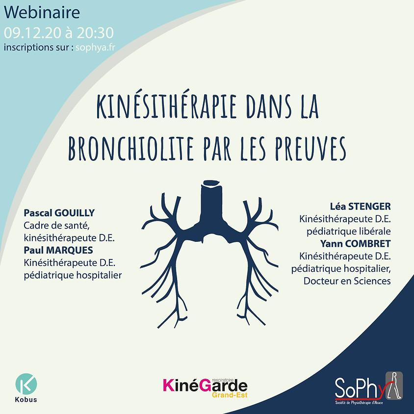 Kinésithérapie dans la bronchiolite par les preuves