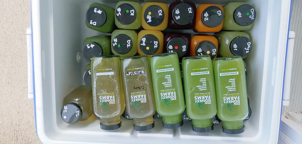 Juice provided by Zen Donkey Farms