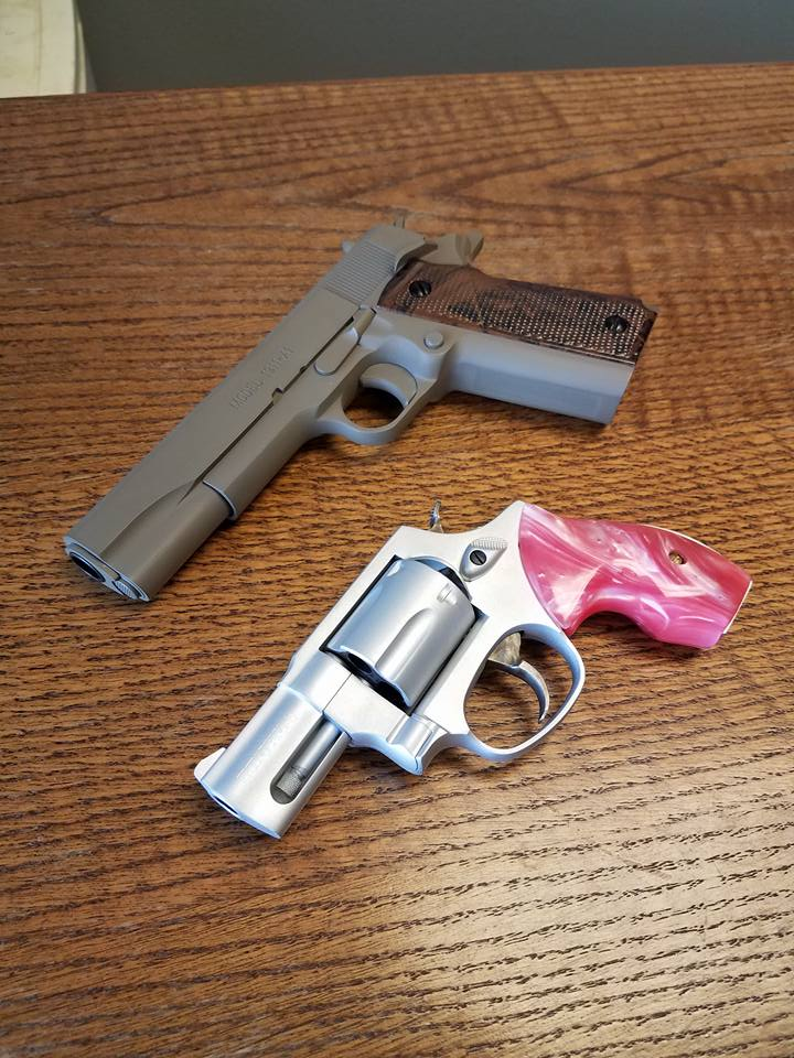 1911 and 38 Special