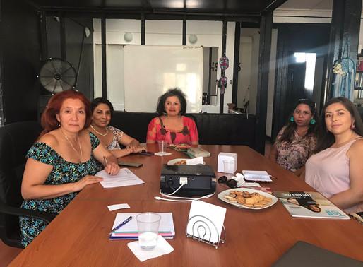Heroínas participan en Diálogo Ciudadano de Seremi Mujer y EG