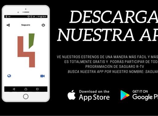 Descarga tu #App Saguaro